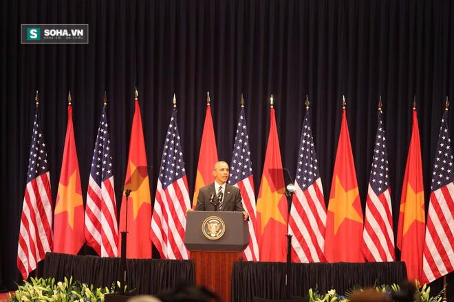 Toàn văn bài phát biểu của Tổng thống Obama tại Hà Nội - Ảnh 1.