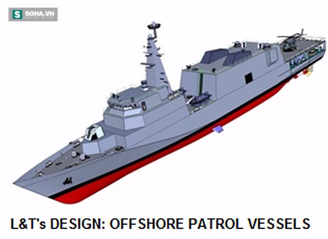 Khám phá sức mạnh tàu tuần tra xa bờ Ấn Độ đóng cho Việt Nam - Ảnh 1.