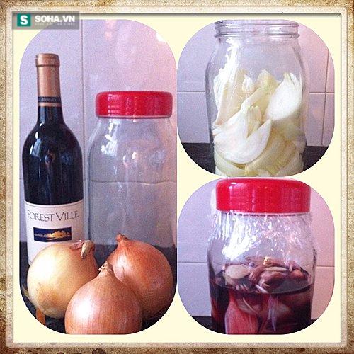 Tác dụng kỳ diệu của hành tây ngâm rượu vang đỏ - Ảnh 2.