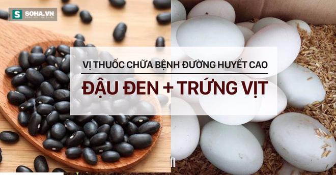 Bài thuốc hạ đường huyết, giảm mỡ máu chỉ với đậu đen + trứng vịt - Ảnh 2.