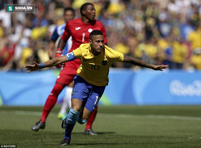 Neymar lập kỉ lục, giấc mơ vàng đã ở rất gần Brazil - Ảnh 2.