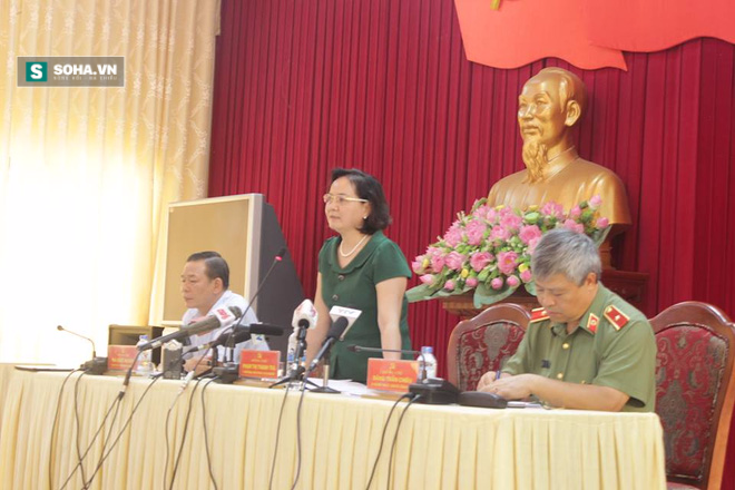 Họp báo vụ Bí thư và Chủ tịch HĐND tỉnh Yên Bái bị bắn chết - Ảnh 1.