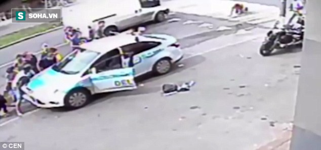 Bé gái bị hất tung, nằm gọn dưới gầm xe sau tai nạn kinh hoàng - Ảnh 4.