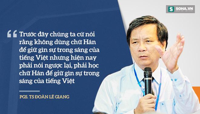 Đề xuất dạy chữ Hán: Hãy để học sinh Việt Nam được tự lựa chọn - Ảnh 1.