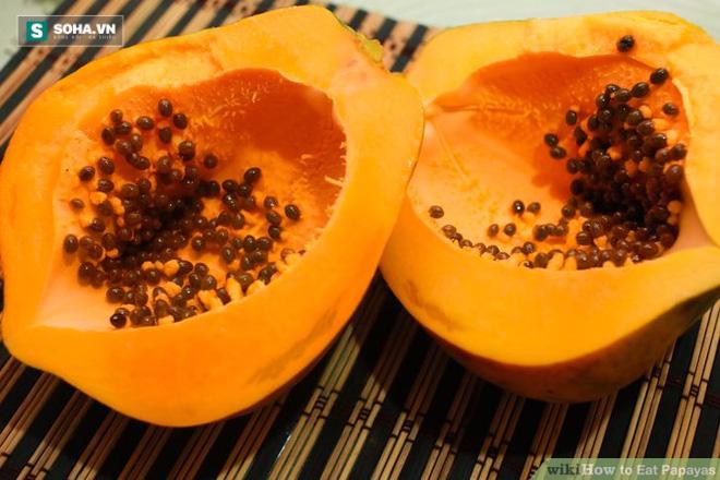 Ăn 1 thìa hạt đu đủ/ngày để phòng ung thư, bảo vệ gan và thận - Ảnh 1.