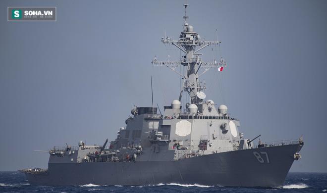 Vụ tàu chiến Mỹ suýt trúng tên lửa: Lực lượng nào đã tấn công? - Ảnh 1.