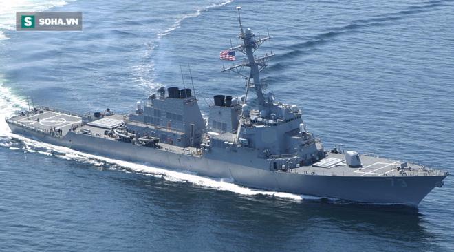 Tàu Mỹ tuần tra gần Hoàng Sa: Báo TQ mượn lời Duterte để mỉa mai - Ảnh 1.