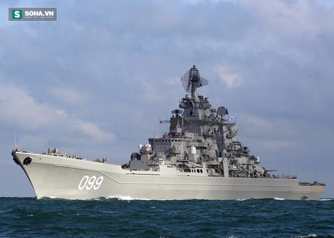 Đối đầu Mỹ, đội tàu chiến Nga không thể trụ quá 50 phút - Ảnh 2.