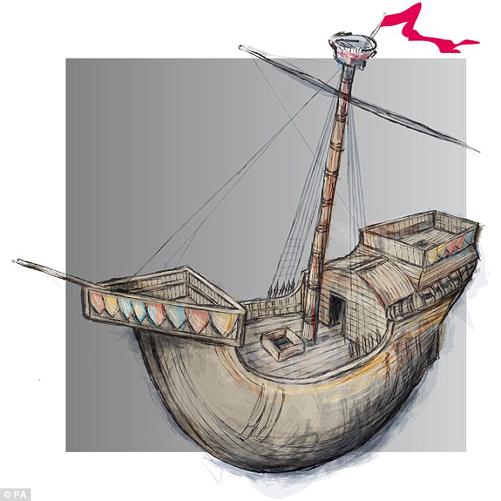 Bóng ma thần thánh - Tàu chiến dũng mãnh của Vua Henry V - Ảnh 1.