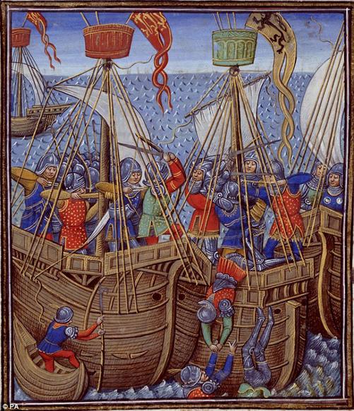 Bóng ma thần thánh - Tàu chiến dũng mãnh của Vua Henry V - Ảnh 2.