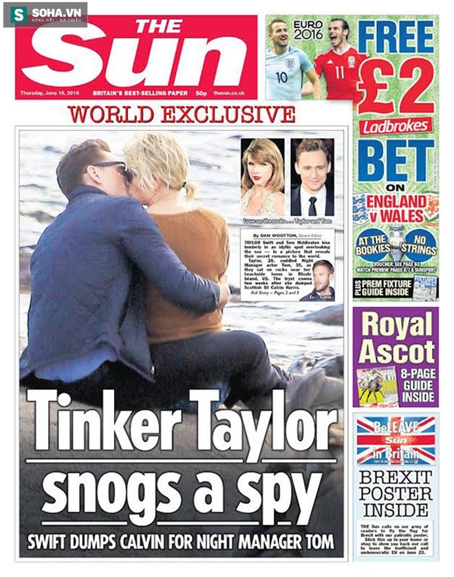 Không thể tin được Taylor Swift lại làm điều này với bạn trai cũ - Ảnh 1.