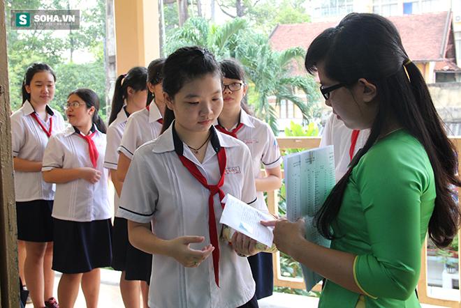 Gần 70.000 học sinh bước vào kỳ thi tuyển lớp 10 ở TP HCM - Ảnh 5.