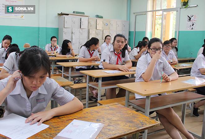 Gần 70.000 học sinh bước vào kỳ thi tuyển lớp 10 ở TP HCM - Ảnh 6.