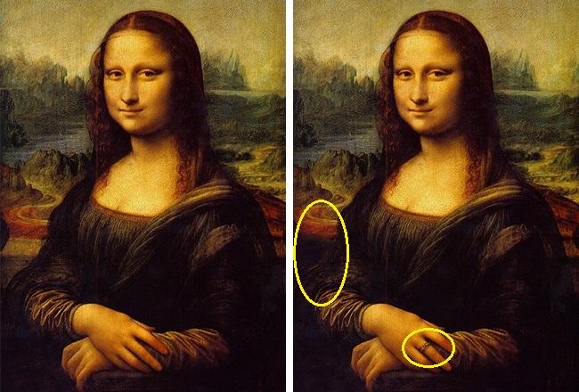 90% người không thể nhận ra điều bất thường trong siêu họa phẩm Mona Lisa của Da Vinci  - Ảnh 15.