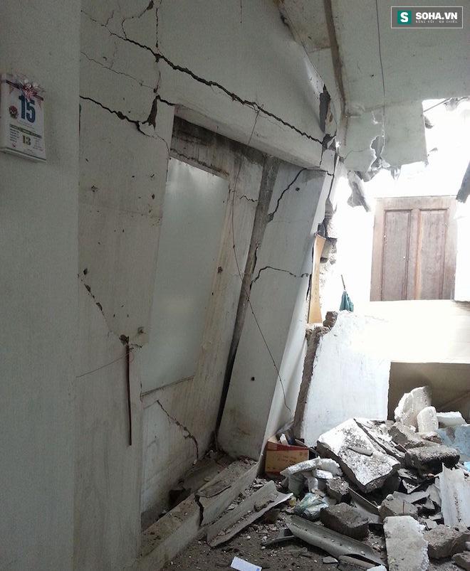 Nghệ An: Xe ben bất ngờ đâm sập quán ăn sáng, 3 người cấp cứu - Ảnh 6.