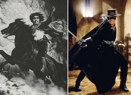 Vén màn bí ẩn về thân phận thực sự của người hùng Zorro - Ảnh 2.