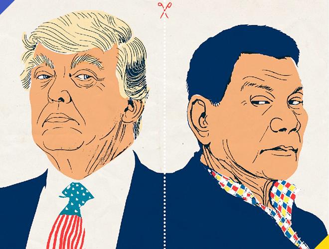 6 điểm giống nhau kỳ lạ giữa Trump và Duterte - Ảnh 20.