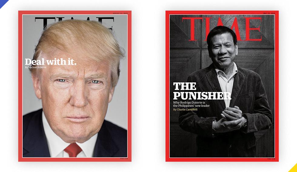 6 điểm giống nhau kỳ lạ giữa Trump và Duterte - Ảnh 14.