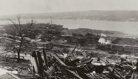 Vụ nổ Halifax: Thảm họa phi hạt nhân khủng khiếp nhất 100 năm qua - Ảnh 6.