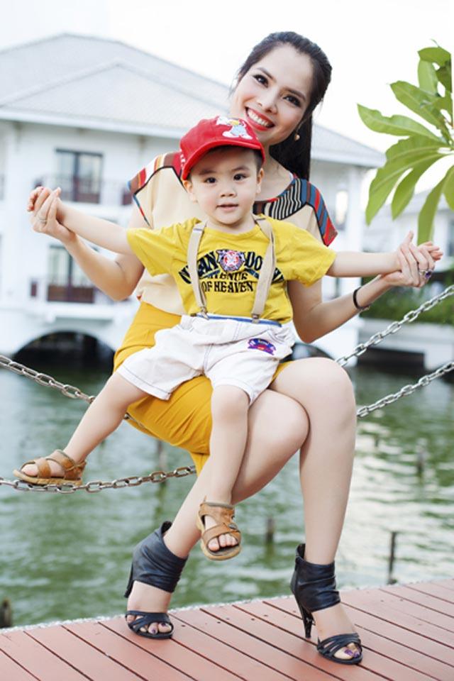 Điểm danh những đứa con được sao Việt giấu kín - Ảnh 9.