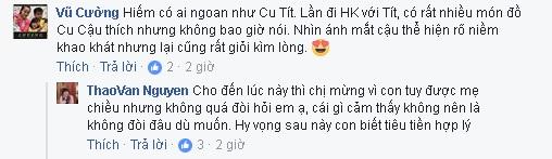 MC Thảo Vân chỉ cho con trai 20 nghìn đồng tiêu vặt hàng tháng  - Ảnh 4.