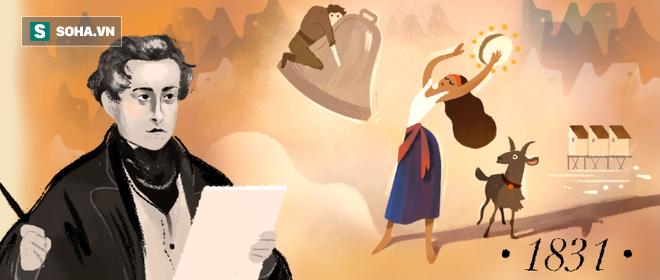 Giải mã 4 bức tranh về Victor Hugo trên trang chủ Google hôm nay 30/6 - Ảnh 1.