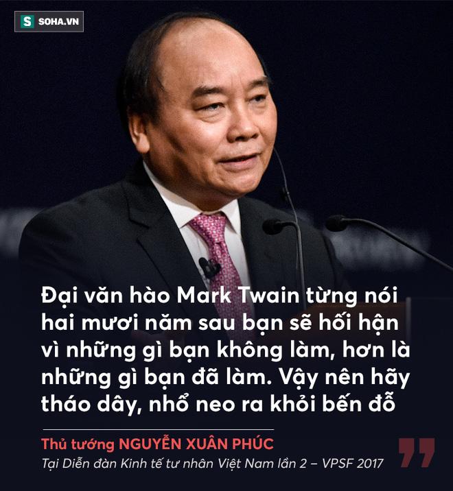 Thủ tướng Nguyễn Xuân Phúc và những câu nói truyền cảm hứng cho doanh nghiệp - Ảnh 1.