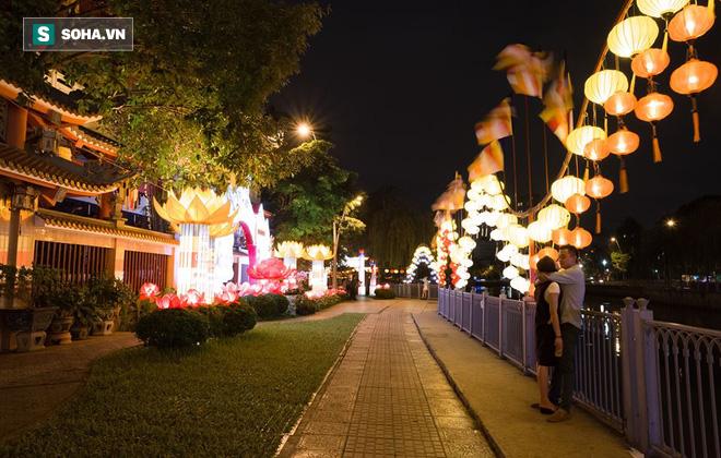 Sài Gòn rực rỡ mừng Đại lễ Phật Đản 2017 - Ảnh 4.