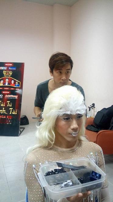 Buổi làm việc của chuyên gia make-up Phi Phi tại phim trường - Ảnh 8.