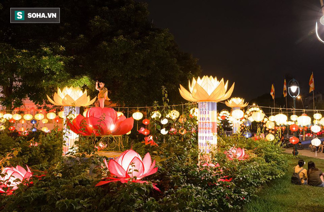 Sài Gòn rực rỡ mừng Đại lễ Phật Đản 2017 - Ảnh 5.