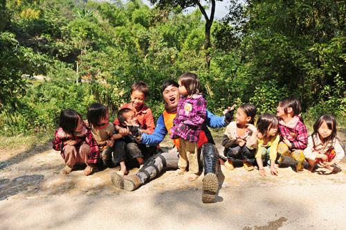 Cuộc hành trình đi bộ xuyên Việt 107 ngày của chàng trai Hà thành - Ảnh 3.