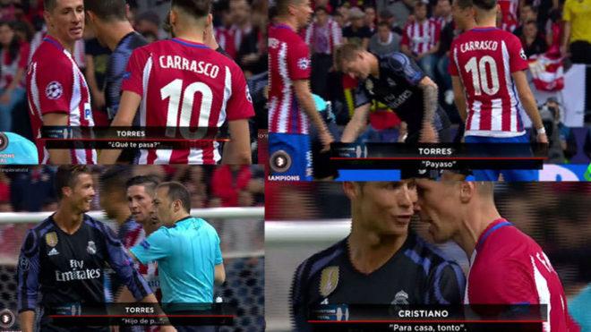 Ronaldo và Torres xúc phạm nhau thậm tệ trong trận bán kết lượt về - Ảnh 1.