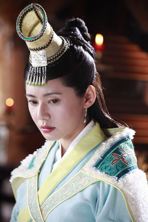 3 mỹ nhân Hàn đẹp nhất trong phim cổ trang Trung Quốc - Ảnh 17.