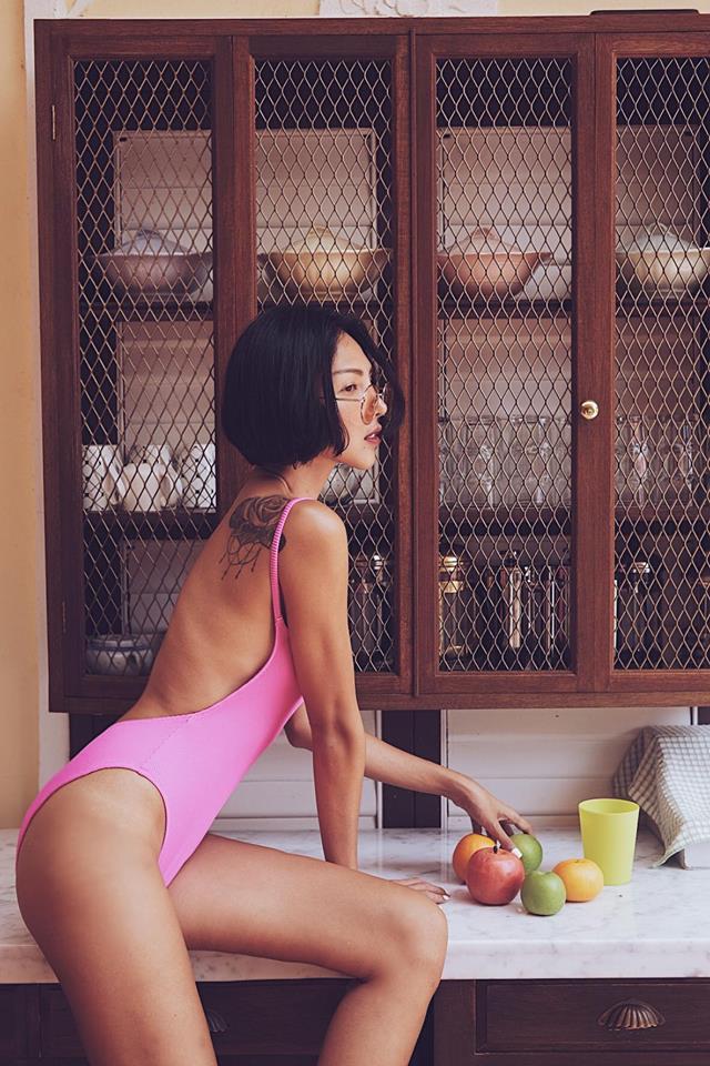 Loạt ảnh da nâu nóng bỏng của Minh Triệu - Ảnh 5.