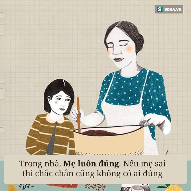 Con gái lên facebook kể 11 điều vô lý của mẹ: Ai đọc cũng thấy đúng! - Ảnh 1.