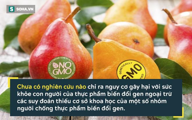 Không phải ung thư, đây mới là nguy cơ lớn nhất từ thực phẩm biến đổi gen! - Ảnh 1.
