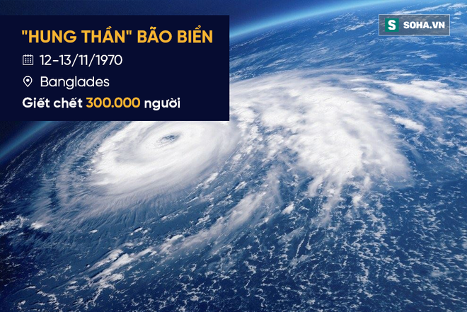 WMO lần đầu tiên công bố hồ sơ: Thảm họa tự nhiên giết nhiều người nhất trong lịch sử - Ảnh 11.