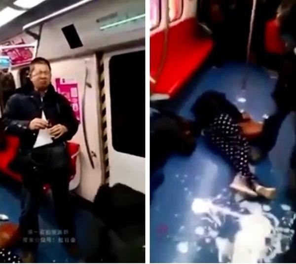 Kinh hoàng: 8 người đồng loạt uống thuốc sâu, tự tử tập thể giữa tàu điện ngầm - Ảnh 3.