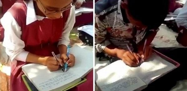 Ngôi trường đặc biệt, nơi 300 em học sinh đều có thể viết cùng lúc bằng cả hai tay - Ảnh 3.