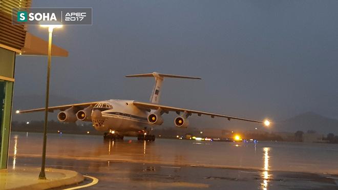Ngựa thồ IL-76 của đoàn tiền trạm Tổng thống Nga đã đáp xuống Đà Nẵng - Ảnh 8.