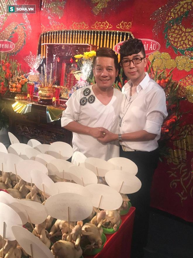 Các nghệ sỹ nổi tiếng Sài Gòn tổ chức lễ cúng Tổ nghề - Ảnh 20.