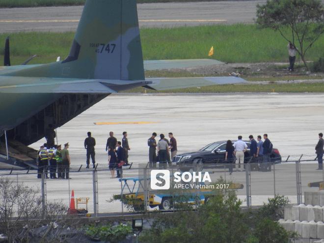 Vận tải cơ C-130J Super Hercules chở đoàn tiền trạm Hàn Quốc dự APEC đáp xuống Đà Nẵng - Ảnh 11.