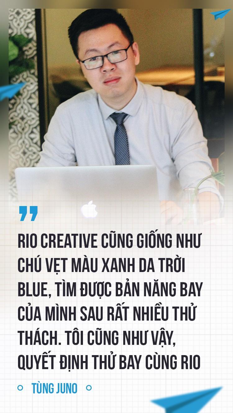Tùng Juno và RIO Creative: Từ cậu học sinh bị bắt nạt đến thương hiệu tên tuổi ngành sáng tạo - Ảnh 7.