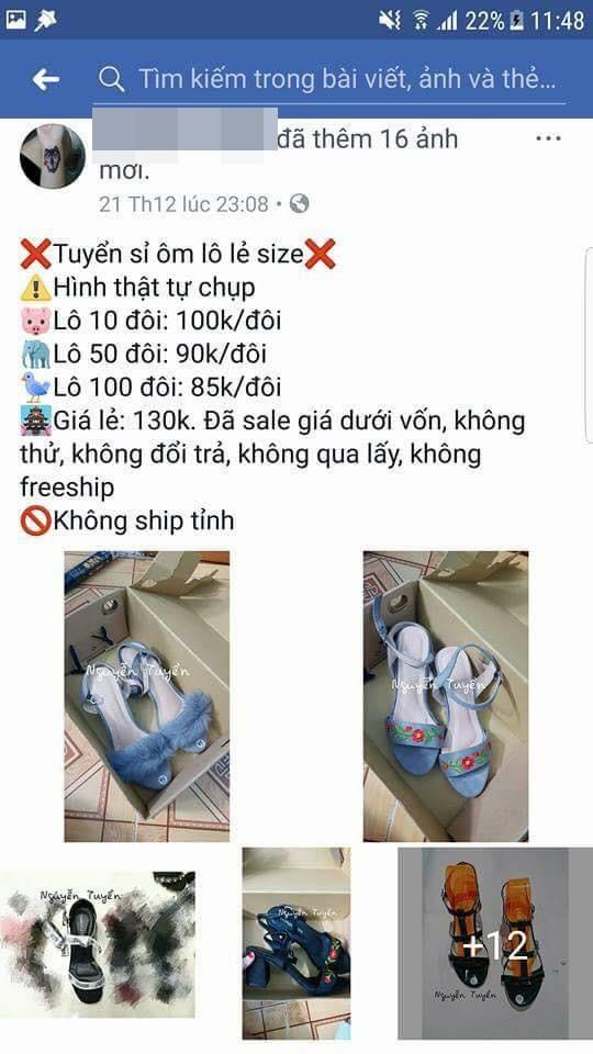 Nỗi khổ chủ shop giày: Khách đòi 100 đôi tổng 85 nghìn, mua không được thì chửi lừa đảo - Ảnh 1.