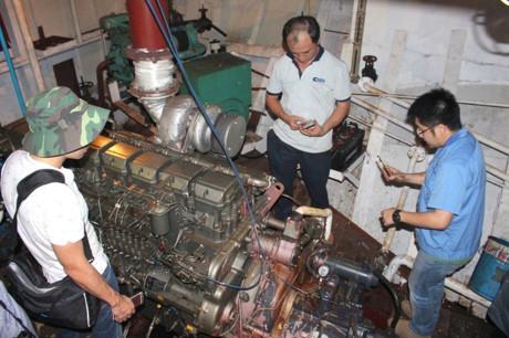 Đại diện hãng Mitsubishi: 8 máy trên tàu Cty Nam Triệu đóng không phải hàng chính hãng - Ảnh 1.
