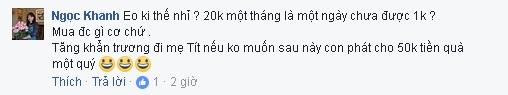 MC Thảo Vân chỉ cho con trai 20 nghìn đồng tiêu vặt hàng tháng  - Ảnh 2.