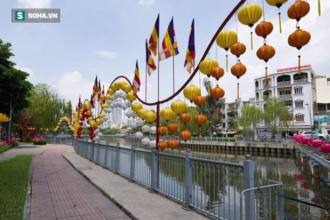 Sài Gòn rực rỡ mừng Đại lễ Phật Đản 2017 - Ảnh 7.