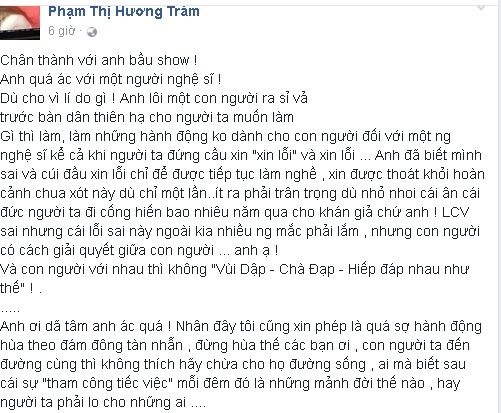 Giới ca sĩ Việt đau xót khi xem video Lưu Chí Vĩ bị khán giả đuổi đánh, bầu sô lăng mạ - Ảnh 2.