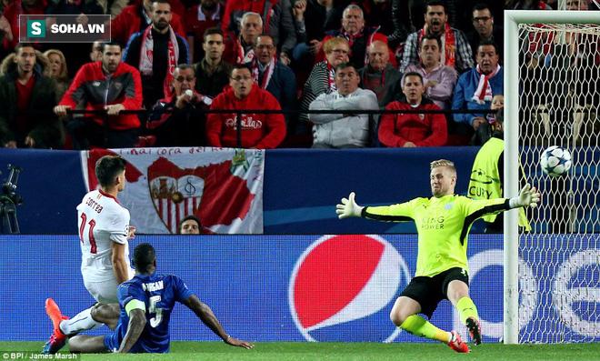 Lập công sau 748 phút, Vardy giúp Leicester tiếp tục mơ mộng tại Champions League - Ảnh 2.