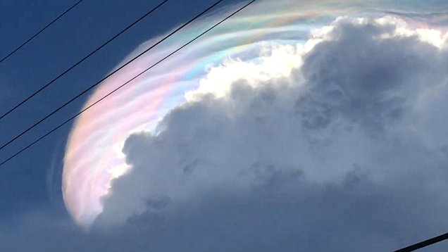 Hiện tượng lạ xuất hiện trên bầu trời Venezuela: Tận thế có xảy ra? - Ảnh 4.